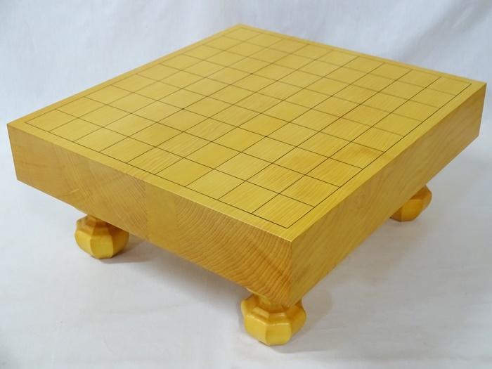 将棋盤 中国榧 2寸1分 脚付